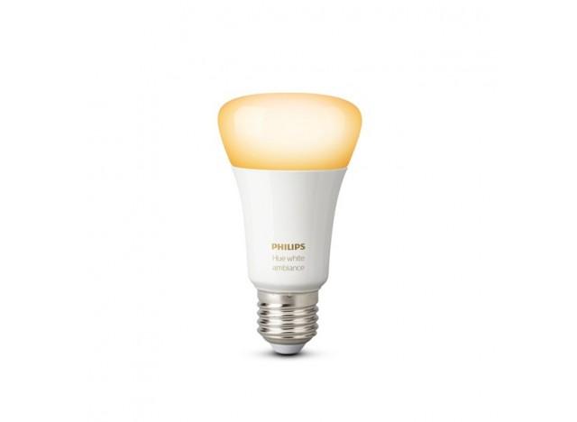 Philips hue Lampadina E27 9.5 w singola White Ambiance sfumature di bianco