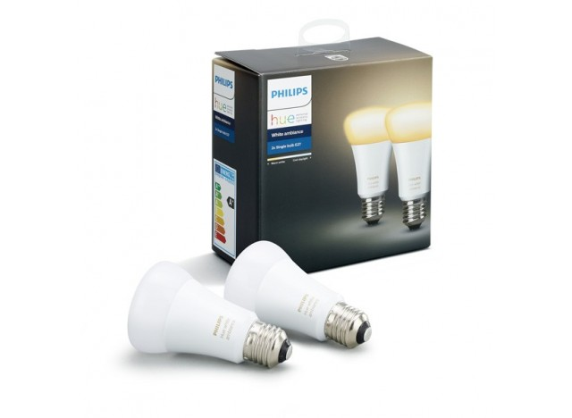 Philips hue 2 Lampadine led E27 9,5 w White Ambiance