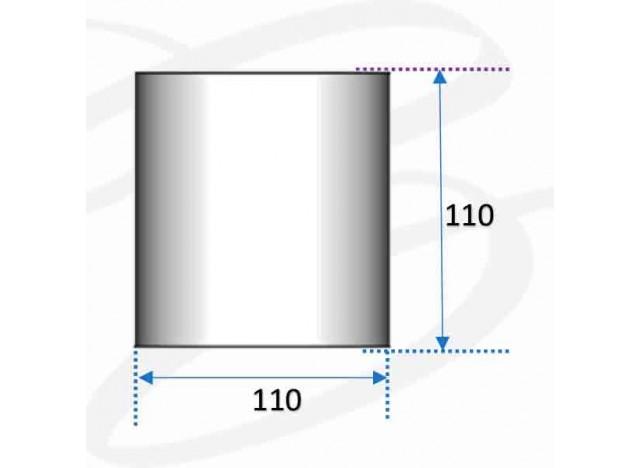 plafoniera in gesso da soffitto modello fantasia a cilindro