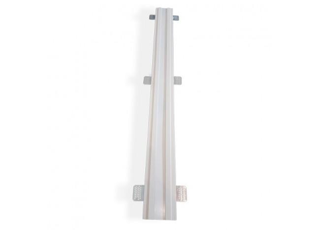 profilo gesso lineare ad incasso a soffitto accessorio largo
