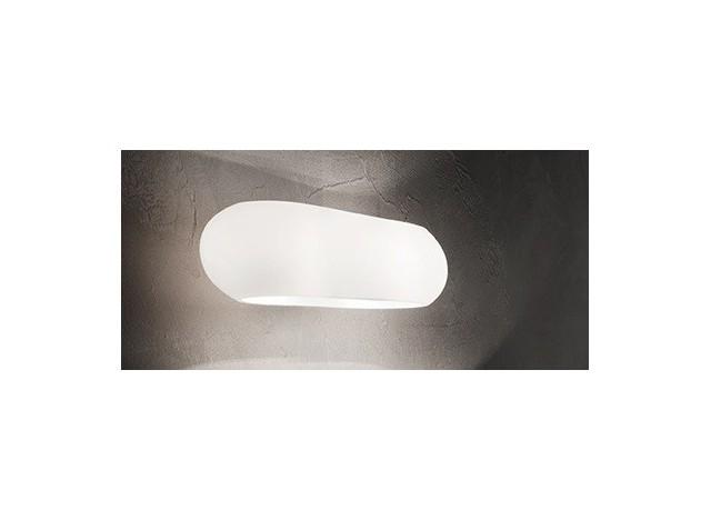 Ideal Lux Moris AP2 Bianco Lampada da parete