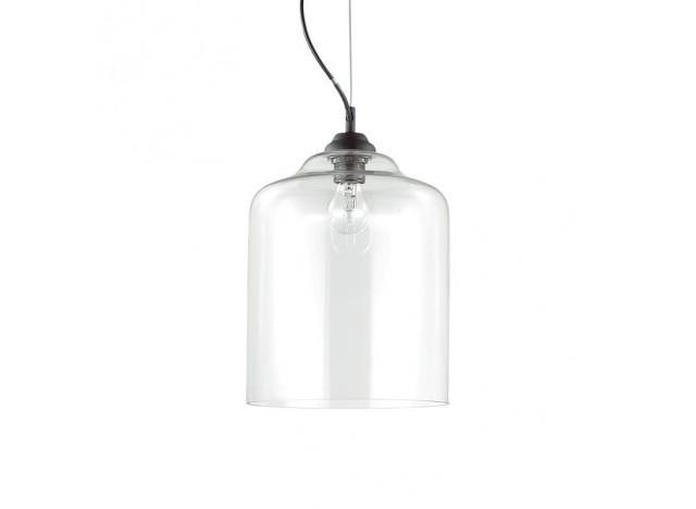 ideal lux bistro square sp1 trasparente sospensione prezzo