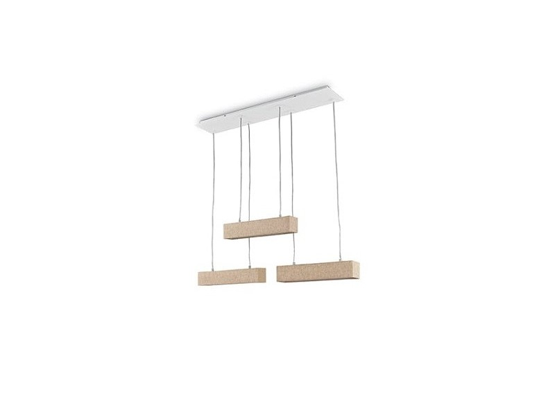 ideal lux ekos sp6 square lampadari contemporanei prezzi