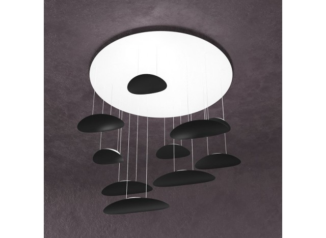 Toplight 1169 Nero 10 luci Prezzo Costo