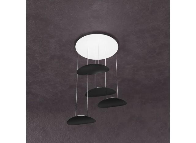 Top Light 1169 4 Luci Nero