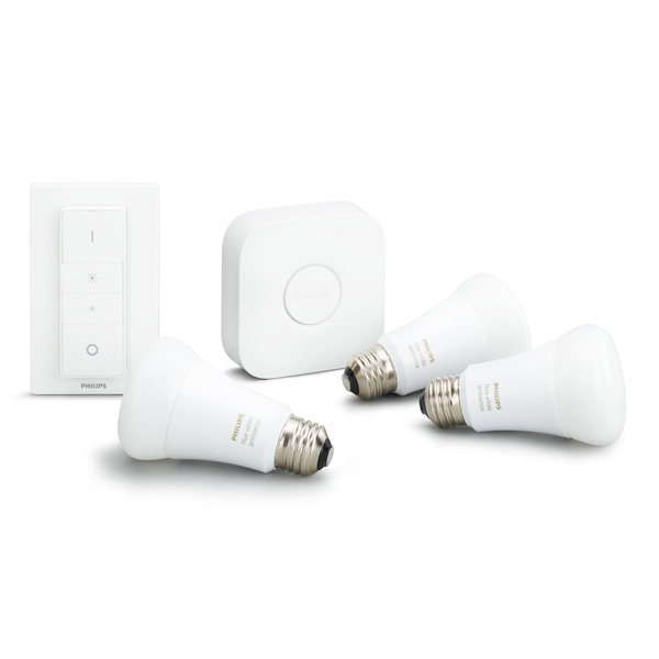illuminazione wireless philips hue starter kit white ambiance