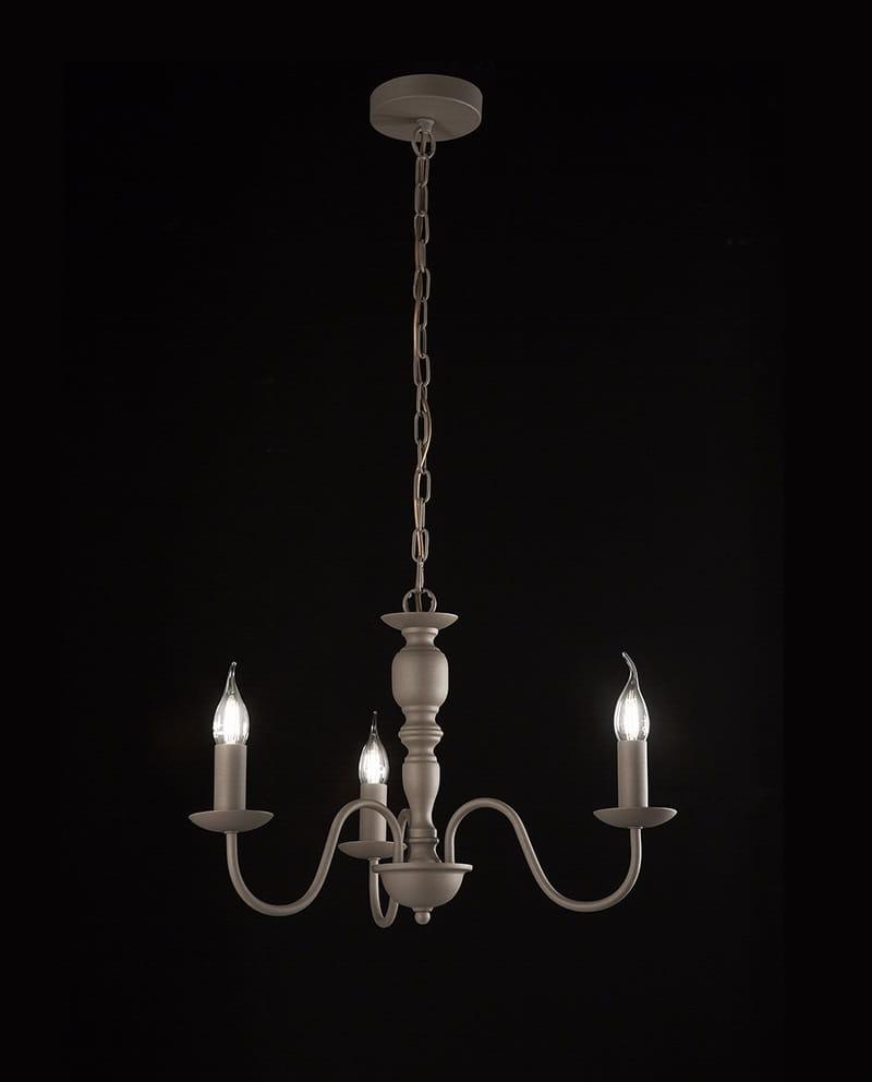 illuminazione ambienti interni a 3 bracci consigliato per arredamento Rustico. Voglia di rinnovamento