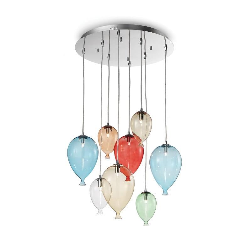 Lampadari a sospensione moderni per cucina ideal lux rende più confortevole la cucina donando un' illuminazione ampia su tutto l'ambiente