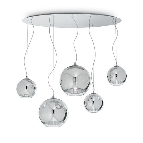 ideal lux lampadari a sospensione moderni Sospensioni con cavo in acciaio a lunghezza regolabile da dispositivo ferma cavo automatico